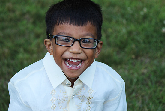 Adopted Philippines Child